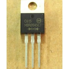 MBR2045CT MOSFET DIODE TO-220,Dual Schottky Rectifiers