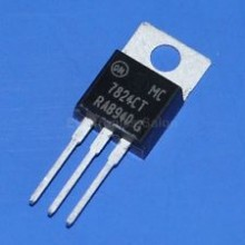 7824CT IC, Positive 24V Voltage Regulator, MC7824CT