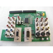 TOSHIBA: 44HM85. P/N: 6870VS2258D. AUDIO VIDEO INPUT BOARD