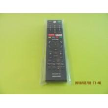 SONY XBR-49X900F P/N: RMF-TX310U REMOTE CONTROL
