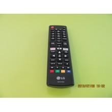 LG 49UK6300PUE P/N: AKB75375604 REMOTE CONTROL