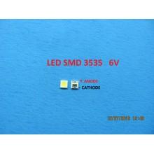 LEDS SMD 3535 6V 160MA ANODE POSITIVE CATHODE NEGATIVE FOR SHARP TV