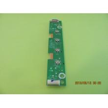 VIZIO E70-E3 P/N: 1P-1159801-1010 KEY CONTROL BOARD