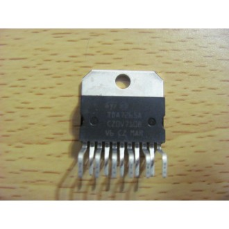 TDA7265A: IC 25 +25W STEREO AMPLIFIER WITH MUTE & ST-BY