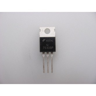 HUF75339P: MOSFET Encapsulation:TO-220,75A, 55V, 0.012 Ohm, N-Channel UltraFET