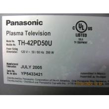 PANASONIC: TH-42PD50U.P/N: TNPA3626. INPUT BOARD