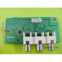 TOSHIBA 42HL196 P/N: V28A00014002 TV INPUT SIDE AV BOARD