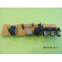 RCA L40HD36 P/N: CCP-3400 AV INPUT BOARD