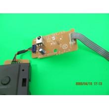 PHILIPS 32HFL5763D/F7 P/N: BA17F4F0103 IR SENSOR AND KEY CONTROLLER BOAR