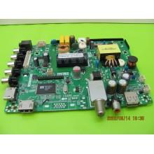 HAIER 32E2000 P/N: TP.MS3393.PB812 POWER SUPPLY MAIN BOARD
