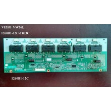 VIEWSONIC: VS11769-1M. P/N: 1260B1-12C. INVERTER BOARD