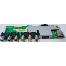 SHARP: LC-46D64U. P/N: XE488WJ. INPUT A/V USB-HDMI