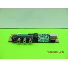 SAMSUNG LN46A530P1F P/N: BN41-00824C AV INPUT BOARD