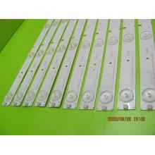 HISENSE LED48K20JD LED48ES280JD P/N: HD480DF-B37 LEDS STRIP BACKLIGHT CODE: ATVIS4801 (KIT NEW)