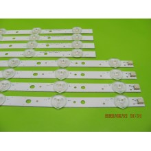 SAMSUNG UN50H5203AF P/N: LM41-00001Q / LM41-00001Z LEDS STRIP BACKLIGHT CODE: ATVSS5002 (KIT NEW)