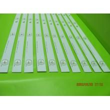 SONY XBR-65X810C KD-65X8000C P/N: SVY650A22_Rev01_6LED_150120 LEDS STRIP BACKLIGHT CODE: ATVSN7501 (KIT NEW)