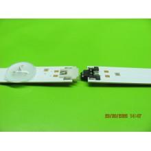 SAMSUNG UN65MU6500F P/N: LM41-00121E + LM41-00121F LEDS STRIP BACKLIGHT VERSION: FA01
