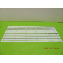 INSIGNIA NS-55D420NA16 P/N: SVH550B1_6LED_REV0_131030 LEDS STRIP BACKLIGHT CODE: ATVIS5504 (KIT NEW)