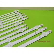 PANASONIC TX-L50B6B TX-L50BL6E TX-L50BL6B TX-L50B6E LEDS STRIP BACKLIGHT CODE: ATVTB5002EX (KIT NEW)