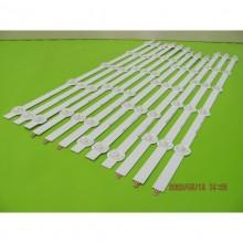 VIZIO E500I-A0 E500D-A0 P/N:6916L-1241A(L1) 6916L-1273A(R1) 6916L-1272A(L2) 6916L-1276A(R2) LED STRIP CODE:ATVLG5002EX(KIT NEW)