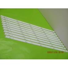HISENSE LED55EC290N LED55K220 LED55K1800 P/N: SVH550AC3_5LED_REV05_150410 LEDS STRIP BACKLIGHT CODE: ATVHS5502 (KIT NEW)