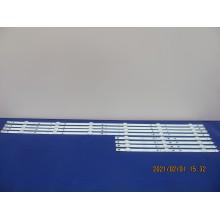 TOSHIBA 50L711U18 P/N: IC-G-TBAC50D837R + IC-G-TBAC50D837L LEDS STRIP BACKLIGHT (KIT NEW)
