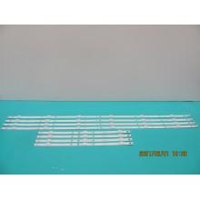 TOSHIBA 50L711U18 P/N: FLOOK FL689710-1 + FLOOK FL689710-2 LEDS STRIP BACKLIGHT VERSION: REV: A (KIT NEW)