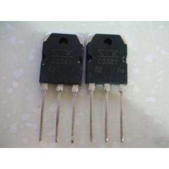2SC2581 TRANSISTOR AUDIO POWER AMPLIF. NPN