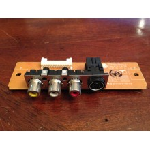 LG: 32LC7D. P/N: EAX35562902. AV Input Board