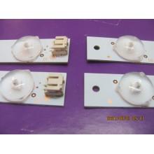 SAMSUNG UN40H5203AF P/N: LM41-00001V (2) LM41-00001W (1) LEDS STRIP BACKLIGHT CODE: ATVSS4001 (KIT NEW)