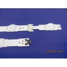 SAMSUNG UN55MU6500FXZC P/N: LM41-00135A + LM41-00136A LEDS STRIP BACKLIGHT VERSION: AA02