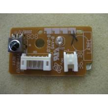 TOSHIBA: 40RV525U. P/N: VTV-IR3707. REMOTE RECEIVER BOARD