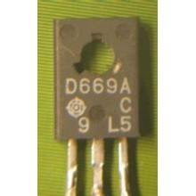 2SD669 TRANSISTOR FREQUENCY POWER AMPLIF. NPN