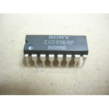 ORIGINAL SONY CXD9969P CXD9969 DIP-16 NEW