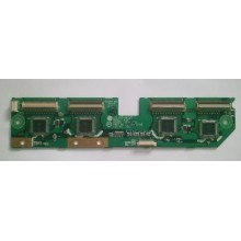 LEGEND: PDP42V7. Y DRIVER. P/N: 6870QFE014B BUFFER BOARD BOTTOM