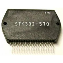 STK392-570 IC CONVERGENCE POWER AMPLIF.