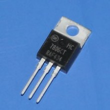 MC7806CT IC POSITIVE VOLTAGE REGULATEUR 6V