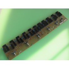 SHARP: LC-42D43U. P/N: RUNTKA343WJZZ. INVERTER BOARD