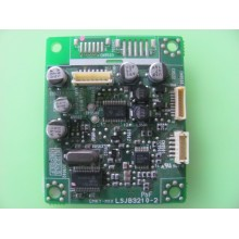 PANASONIC: PT-52LCX66-K. P/N: LSJ3210-2. INTERFACE BOARD