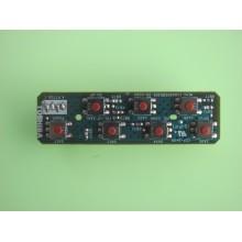 TOSHIBA: 40XV645U. P/N: V28A00095001. KEY CONTROLLER BOARD