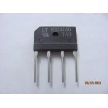 KBJ406G DIODE RECTIFIER 600V 4A