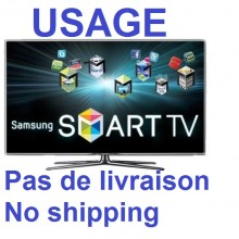 TV TELEVISEUR TELEVISION SAMSUNG 55 POUCES. MODEL: UN55D7000LF. TYPE TV: SMART TV 3D