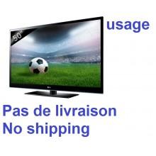 TV TELEVISEUR TELEVISION LG 50 POUCES. MODEL: 50PJ550C. TYPE TV: PLASMA