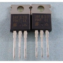 IRF830 4.5A, 500V, 1.500 Ohm, N-Channel Power MOSFET