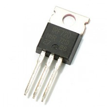 IRF720 3.3A 400V 1.800 Ohm N-Channel Power MOSFET