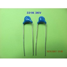331K 3KV 330PF CERAMIC CAPACITORS HIGH VOLTAGE