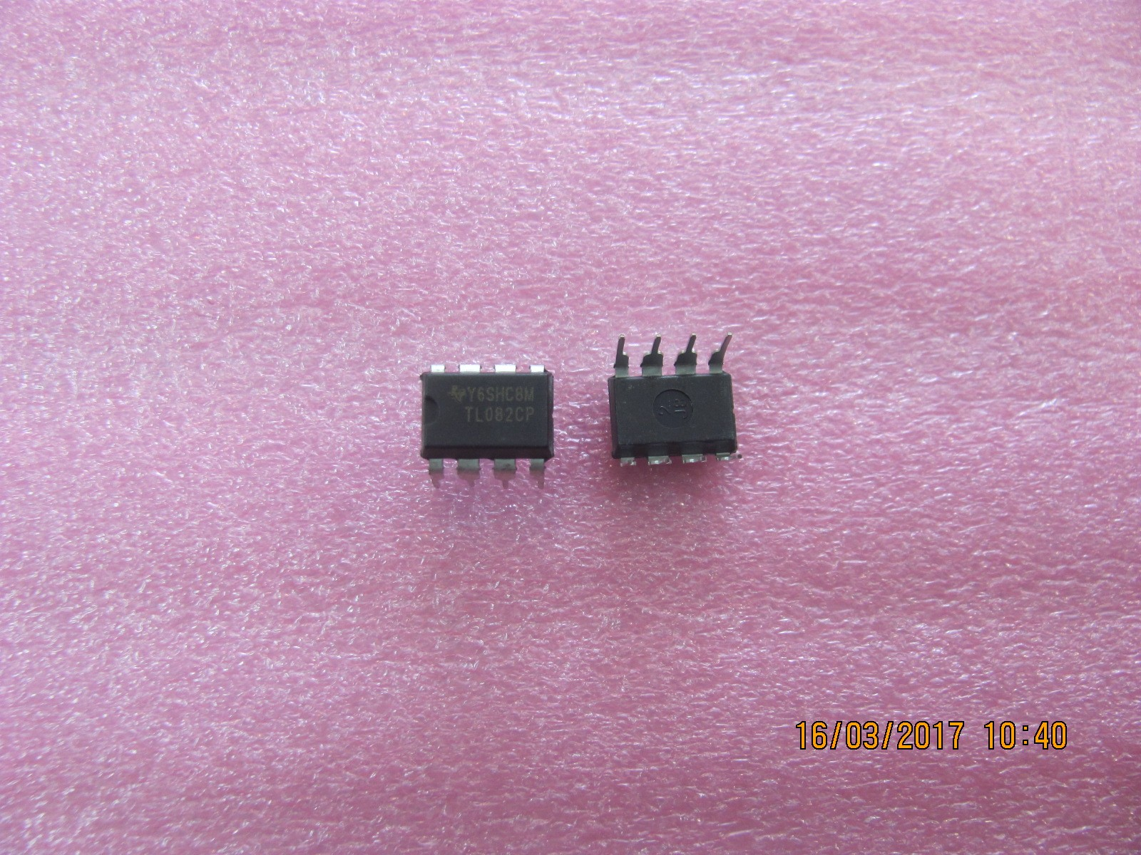 Tl082 Tl082cp Ti Dip8 Ic Jfet Input Operational Amplifiers New Z3 Dual Amplifier Schematic Atvpartselectronique