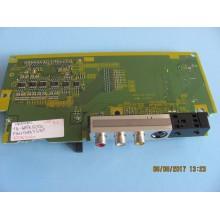PANASONIC :TH-42PX500U.P/N:TNPA3496AF Side AV Input Board Unit