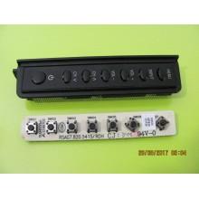 HISENSE 55K20DG P/N: RSAG7.820.5415/R0H KEY CONTROL BOARD
