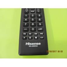 HISENSE 55K20DG P/N: EN-22653A REMOTE CONTROL